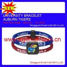 2011 Hot University NCAA Bracelet of Kansas University Jayhawks Red,Blue