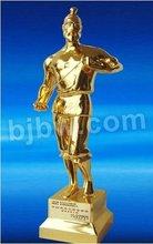 figure metal trophy medal