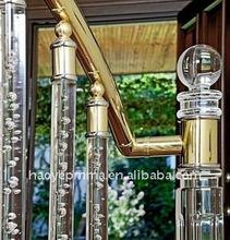 Good quality crush resistant acrylic handrail
