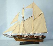 đồ chơi mô hình thuyền gỗ
