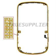 diamond,luxury,crystal bezel for Blackberry Bold 9900 gold color