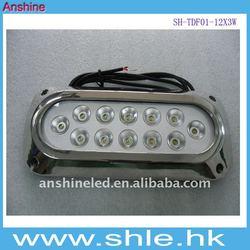 12V LED surface mount marine light