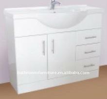 1200mm white high gloss bathroom vanity