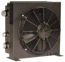 Oil Cooler with12V or 24V DC Motor for Mobile Industry