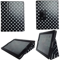 new arrival for apple ipad2 leather case with stand