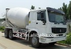 SINO HOWO concrete mixers truck (6x4, euro 2 and extended cab)