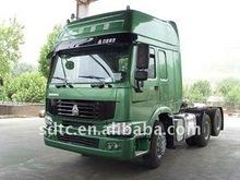 6x4 howo green cargo truck