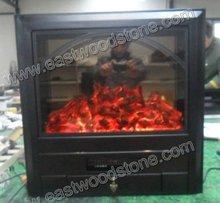nice cast iron electric fireplace