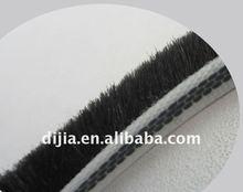 door bottom seal weather strip/rubber seal strip for bathroom/brush pile seal strip