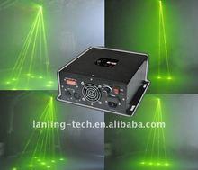 250mW Yellow DMX club night stage effect laser light
