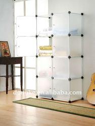 Plastic Corner Shelves With Door Cover