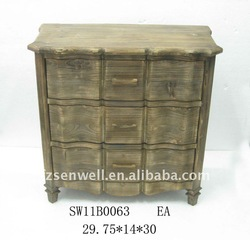 Shabby chic wooden furniture