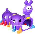 kid plastic play tunnel