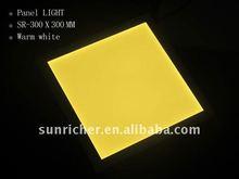 300*300 flat led panel light