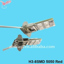 Super bright automotive led bulb H3 8SMD