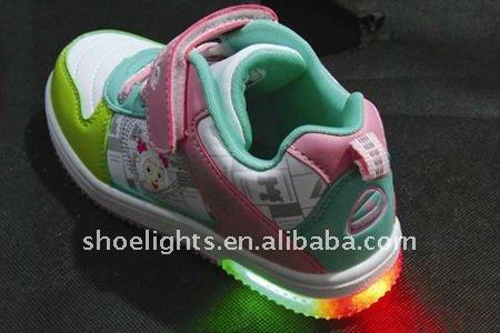 Zapatos con luces led para los niños YX-8502