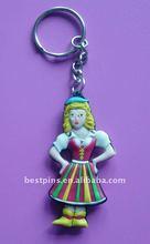 White Snow princess PVC key chain ( BS-JL-PKC-11152)
