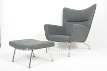 Carl Hansen CH 445 Chair with Ottoman