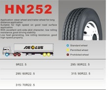Aeolus tyre--Truck and Bus Radial Tires Tubeless 11R22.5 12R22.5