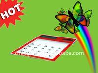Hot Sale practical 5mm ultrathin touch screen solar gift calculator