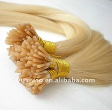Factory Cheap Pre tipped Remy Hair
