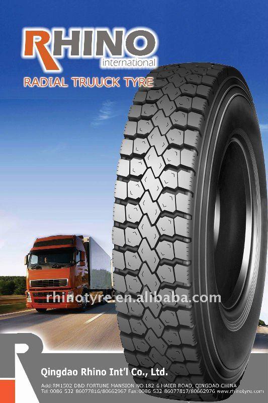 825R16 drive wheels radial truck tyre