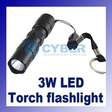 Mini 3W LED Handy Flashlight