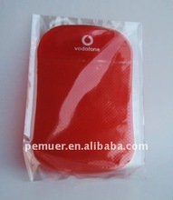 2012 great washable/resuable/moveable slip-resistant mat in red with lots of functions on cars for cell phone, keys, coin etc