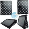 Leather case smart cover case for ipad 2 stand case