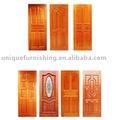 puerta de madera maciza