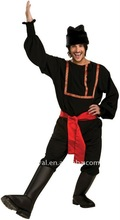 bsmc-1603 black russian mens carnival adult costume