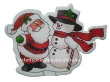 Christmas car air freshener for promotion