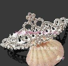 wedding rhinestone crown