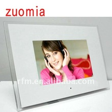 cute mini solar digital photo frame