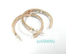 Charm Rose Gold Earrings