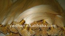 pre-bond hair extension, tlay glue, 100%remy flat tip human hair, well show