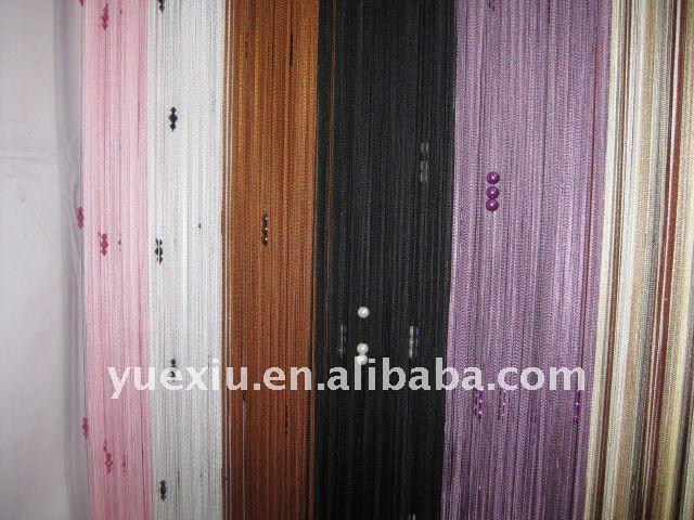 string curtain with bead,line curtain,curtain