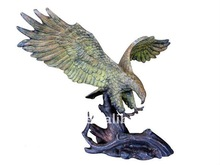 Small Size Bronze Eagle Deco statue
