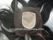 100% Indian remy hair injected top closure