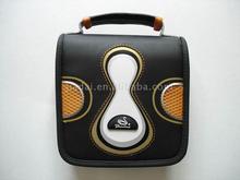 Leather CD wallet/bag CD holder