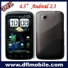 Capacitive 4.3inch mobie phone case W880 Android 2.3