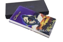 High quality famous brand genuine leather mens wallet for nice gift QN-012