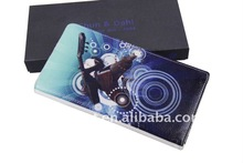 High quality famous brand genuine leather mens wallet for nice gift QN-013
