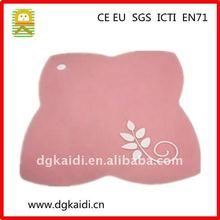 New design Best quality non-slip soft pvc cup mat