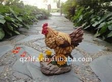 new design sensor hen used for garden decoration