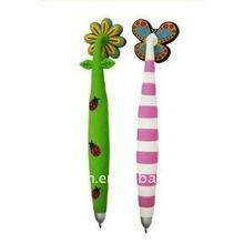 pvc promotinal pen with magnet attached,magic pen