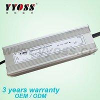 3 years warranty constant voltage 150W 12v / 24v 36v 48v waterproof led driver with smaller size