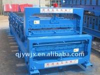 QJ 840/900 double layer colored steel brock making machine China