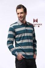 long sleeve stripe cotton men t shirt clothing china wholesale