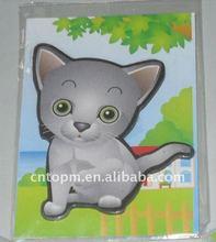 Animal fridge magnet /promotional fridge magnet in animal style